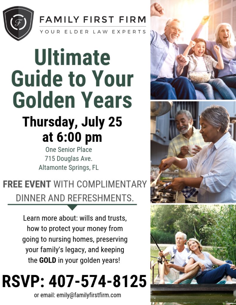 The Ultimate Guide to Your Golden Years @ One Senior Place