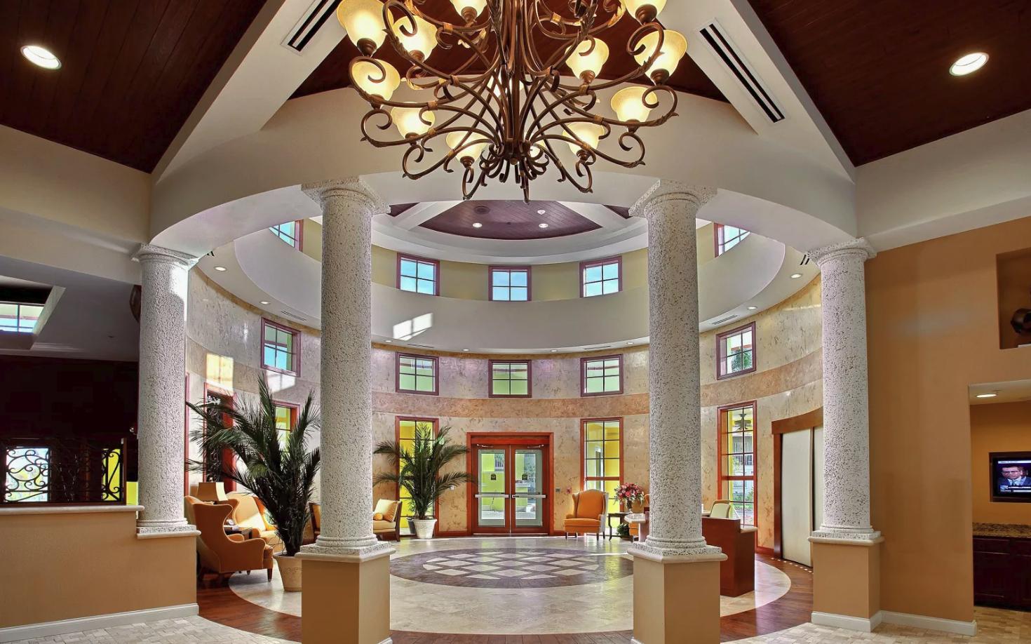 Discovery Village lobby