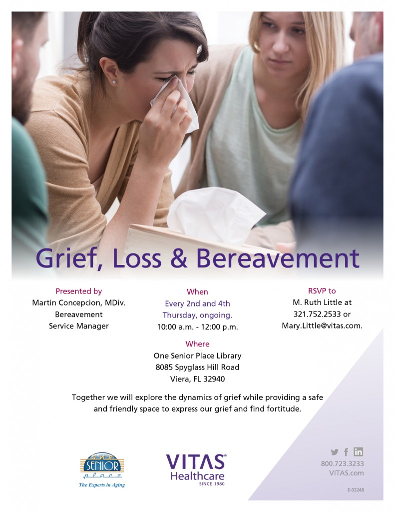 CANCELLED UNTIL FURTHER NOTICE - Grief, Loss & Bereavement Support Group
