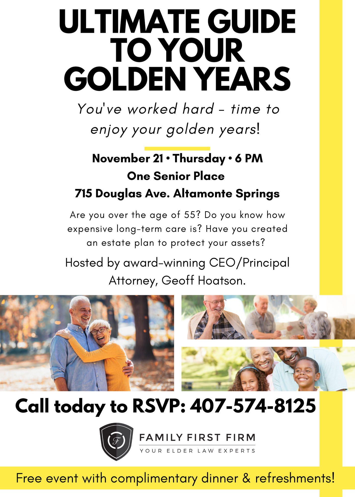The Ultimate Guide to Your Golden Years