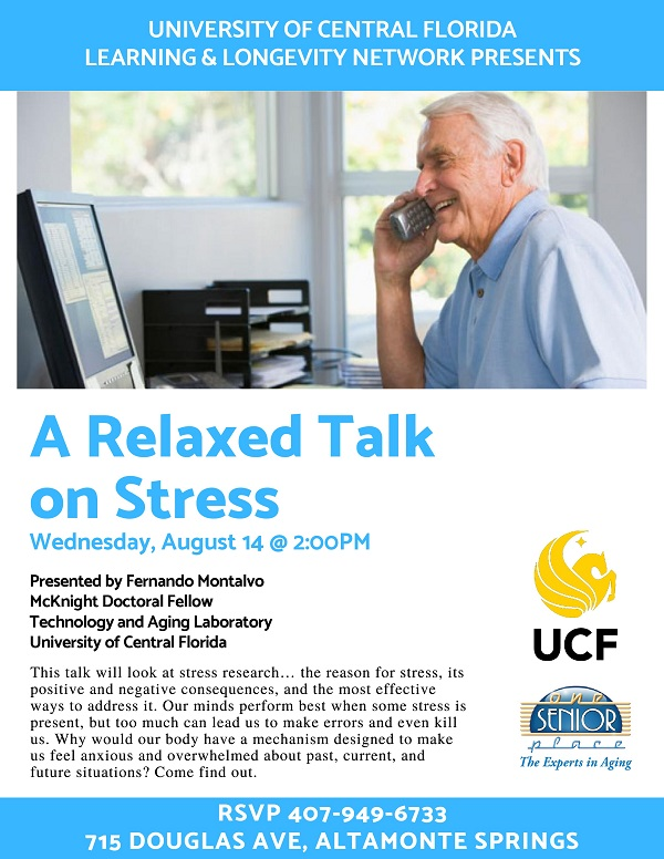 A Relaxed Talk On Stress