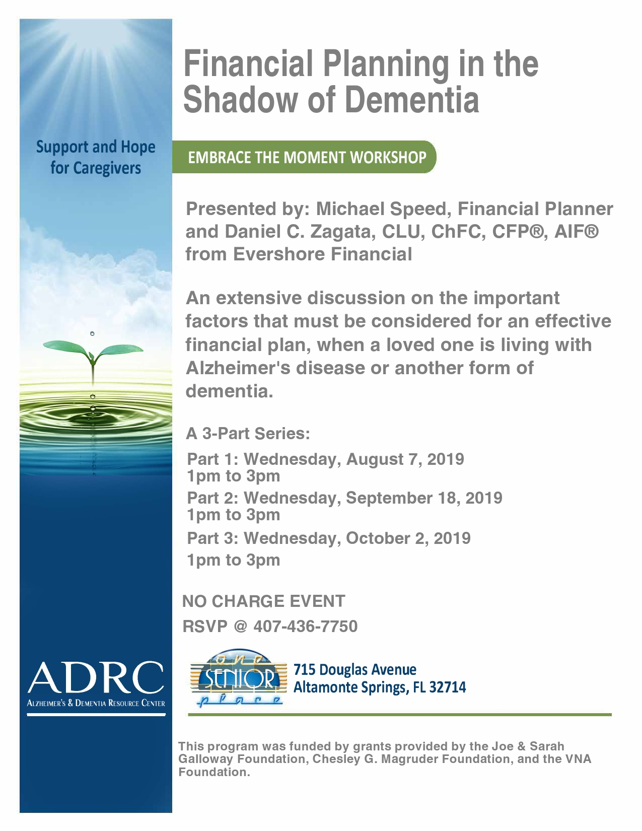 Part 2 - Financial Planning in the Shadow of Dementia