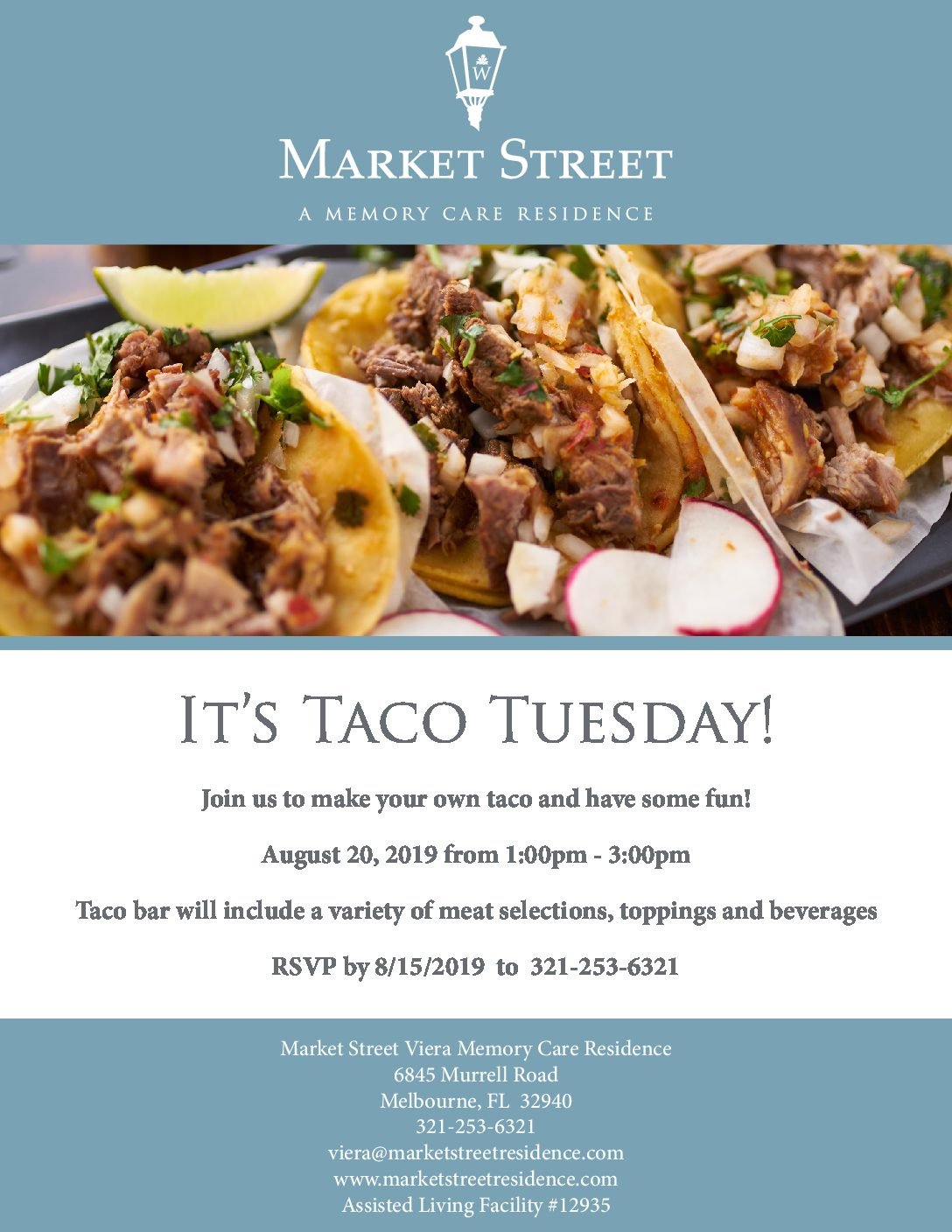 It's Taco Tuesday! at Market Street