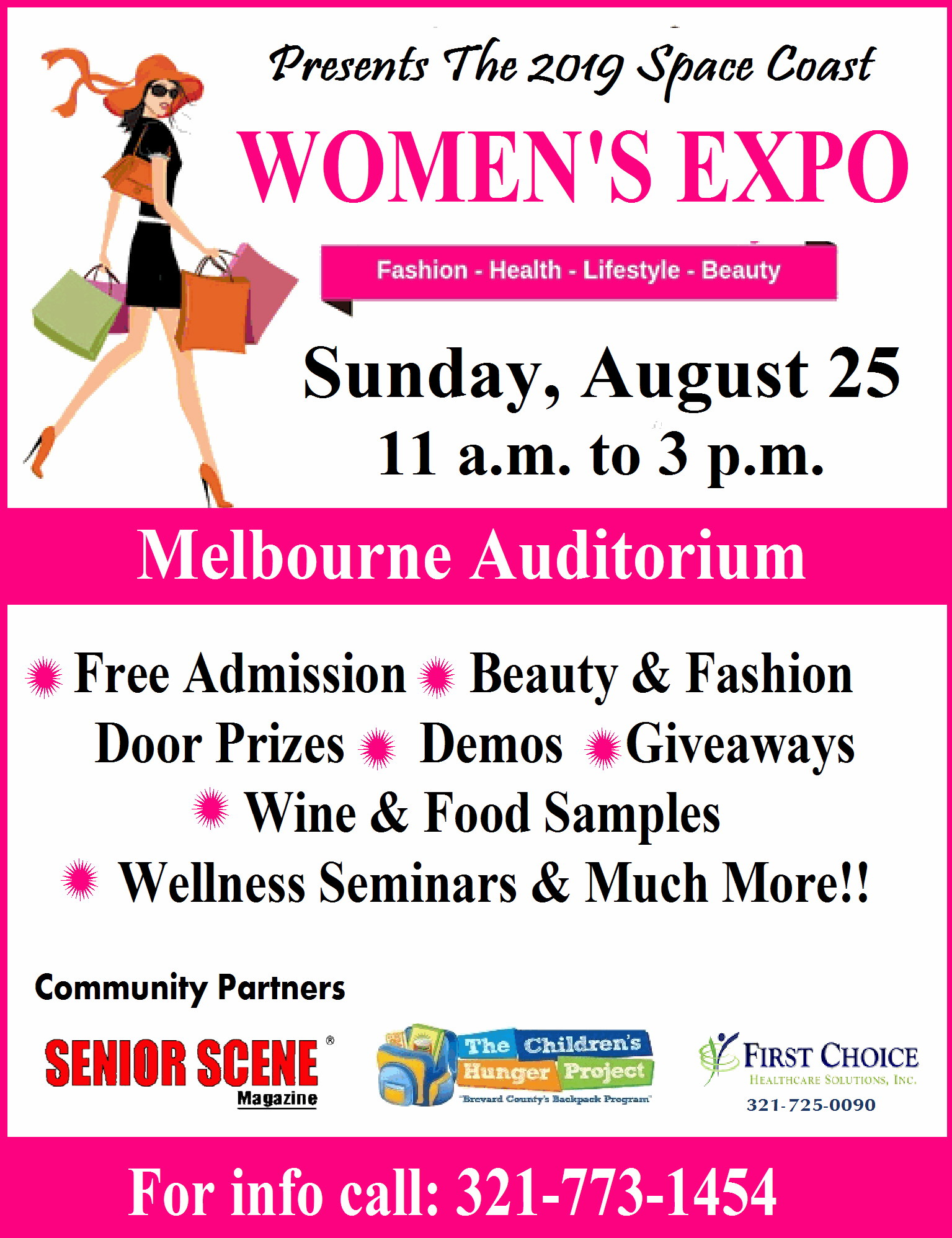 The 2019 Space Coast Women's Expo