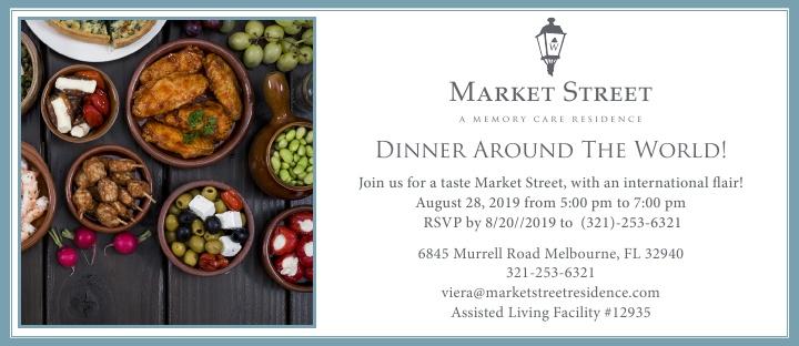 Dinner Around The World! at Market Street