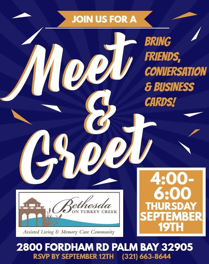 Meet & Greet at Bethesda on Turkey Creek