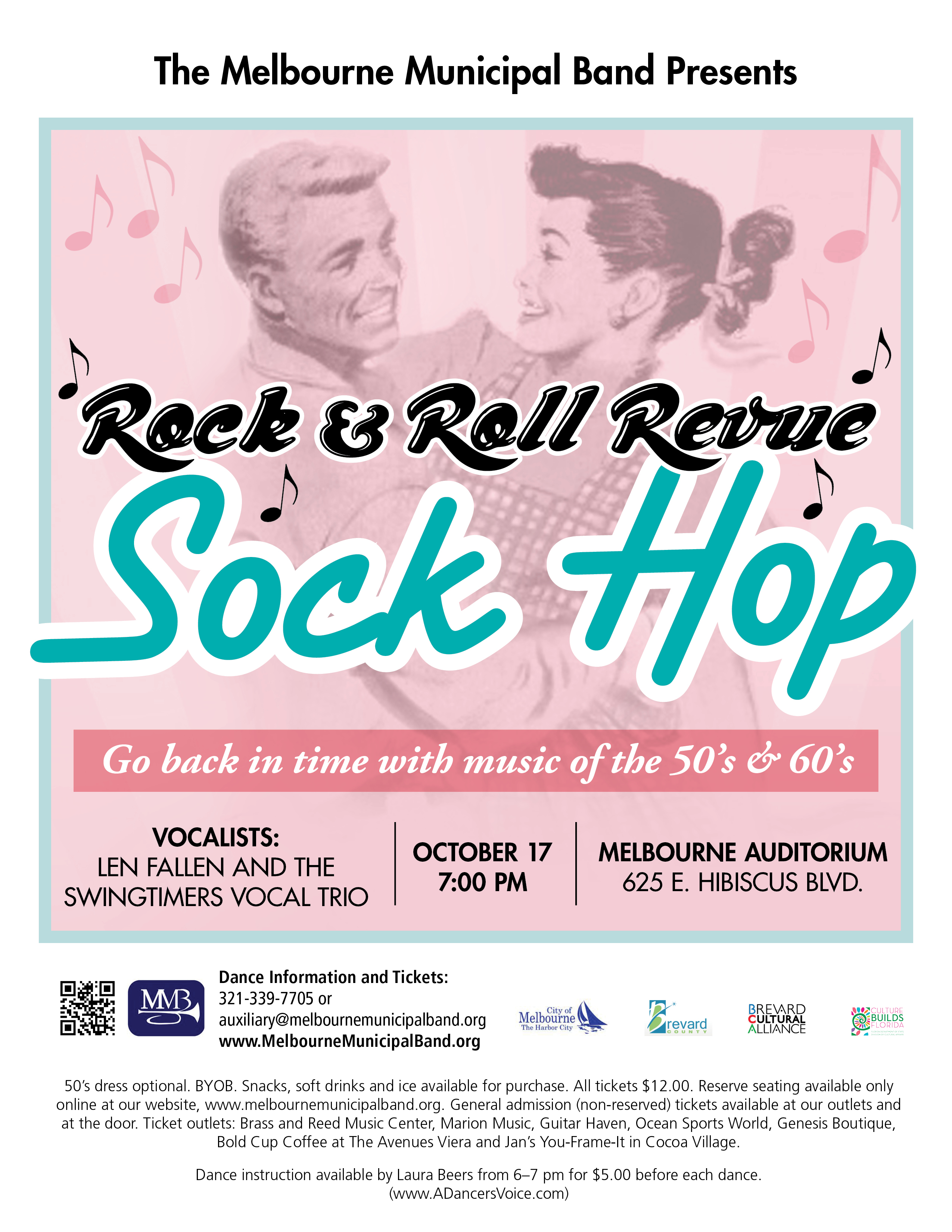 Sock Hop presented by The Melbourne Municipal Band