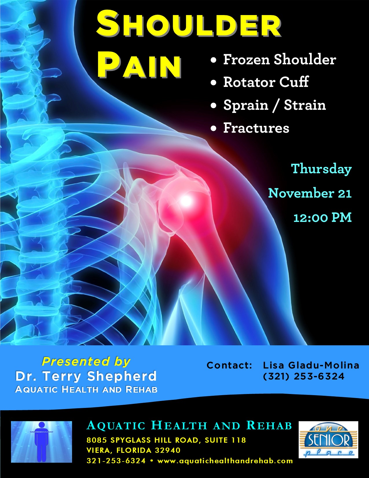 Shoulder Pain with Dr. Terry Shepherd