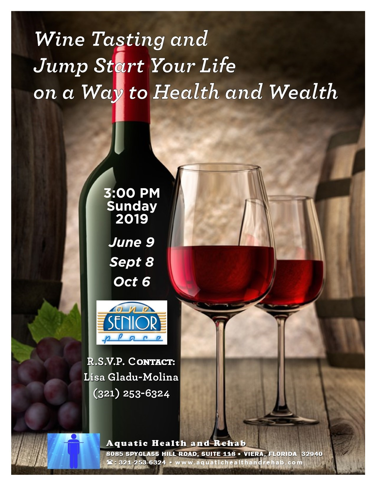 Wine and Wellness presented by Aquatic Health & Rehab