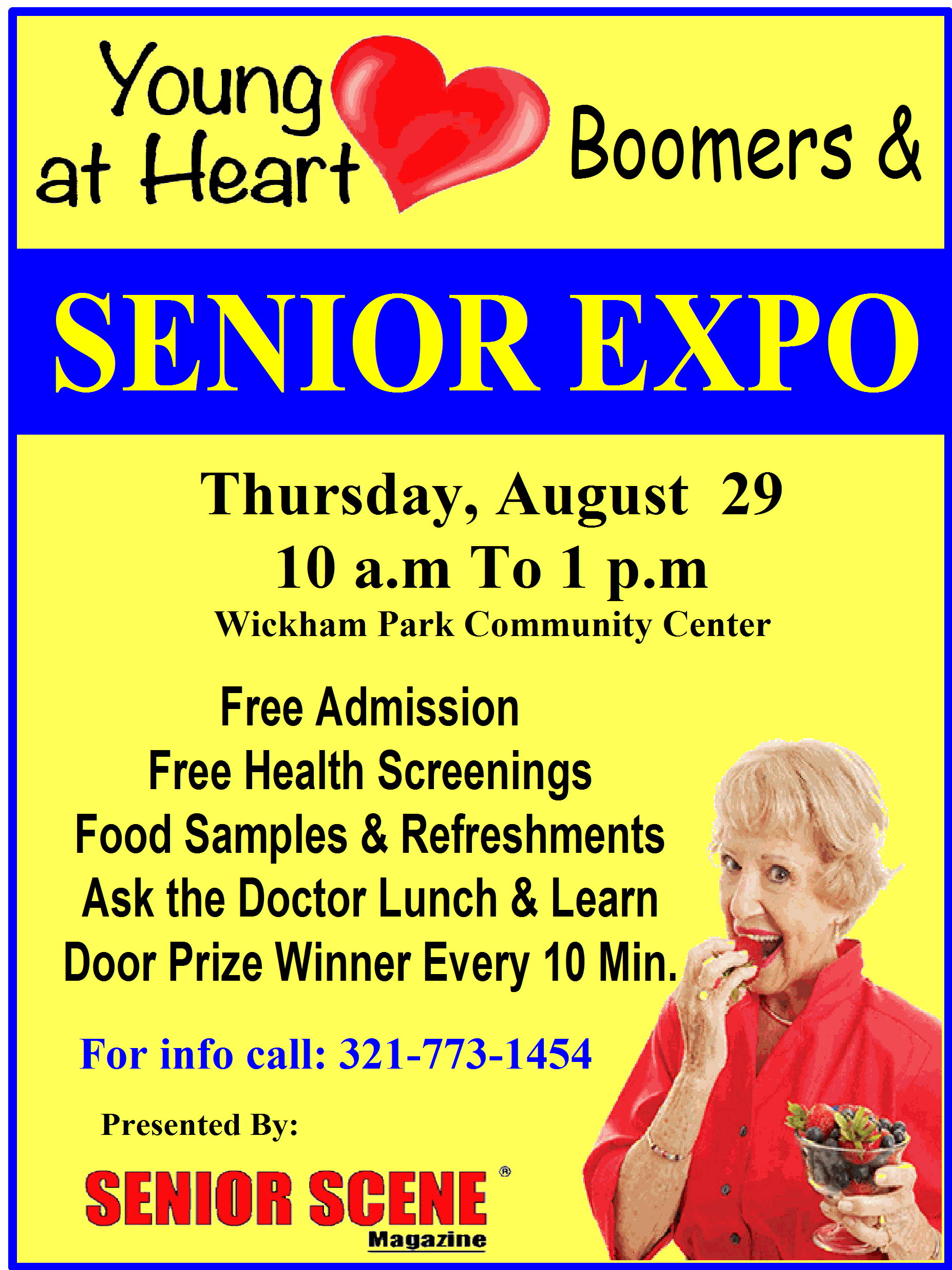 Young at Heart Boomers & Senior Expo presented by Senior Scene Magazine