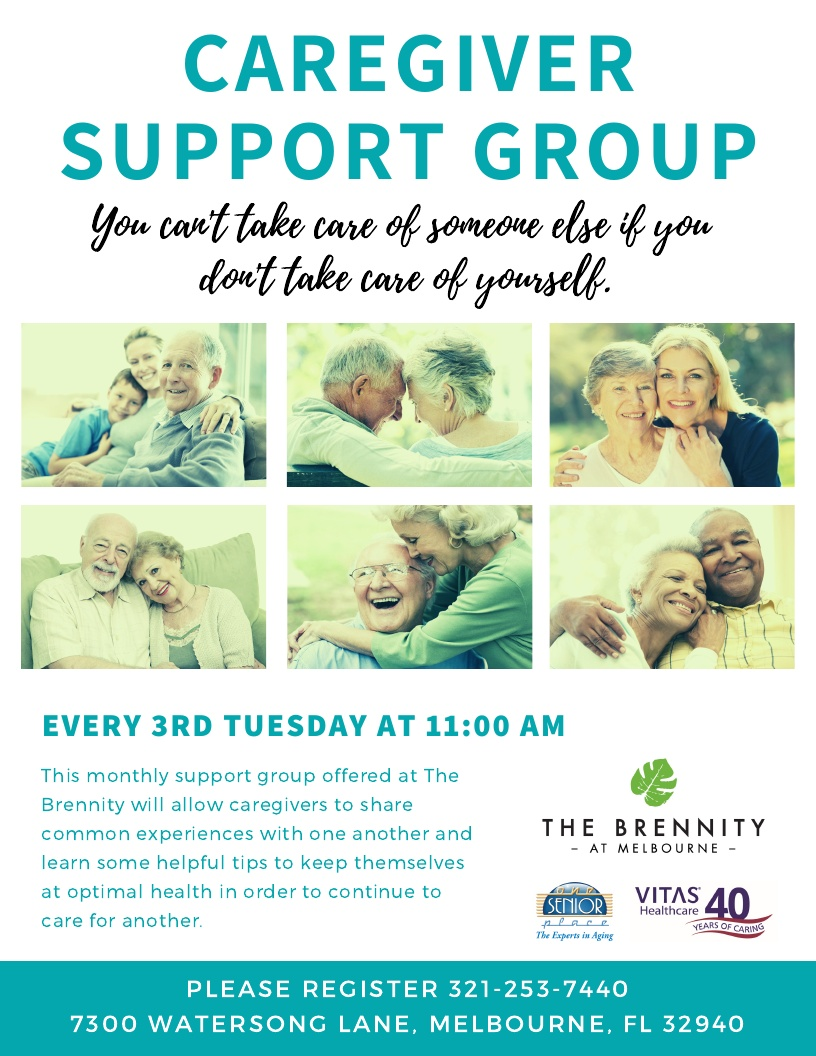 Caregiver Support Group at The Brennity at Melbourne