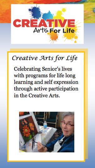 Creative Arts for Life Seniors Art Class