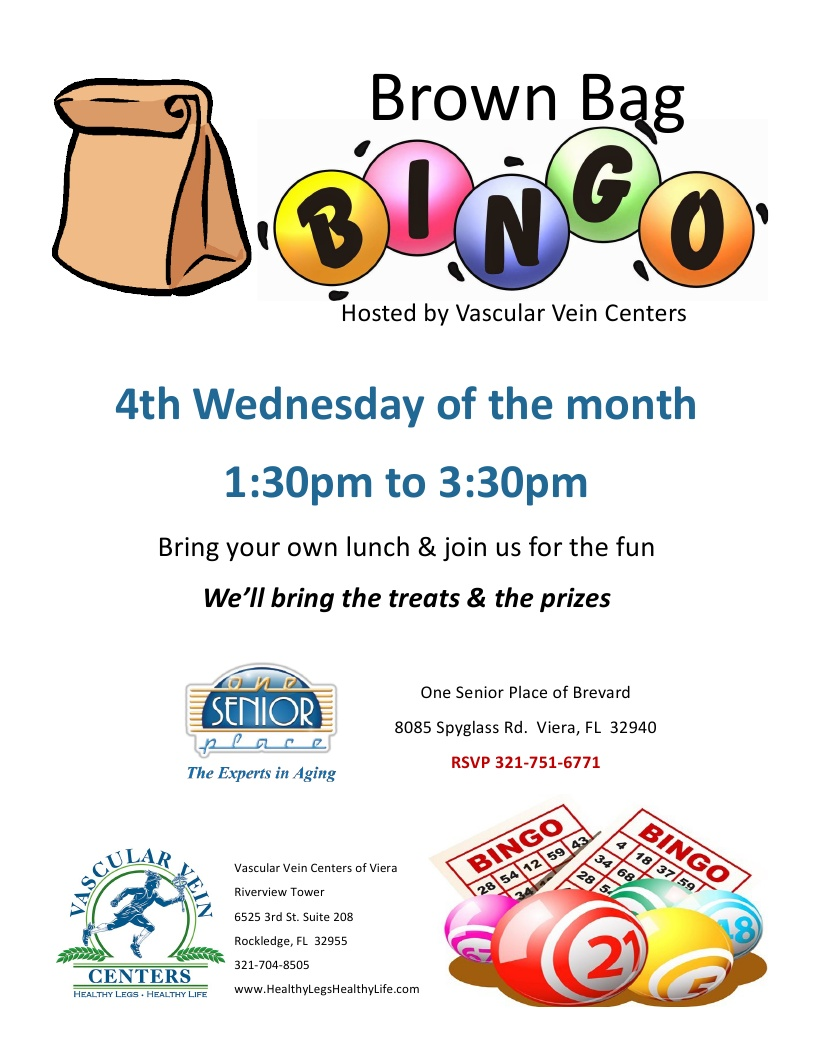 CANCELLED UNTIL FURTHER NOTICE - BINGO hosted by Vascular Vein Centers