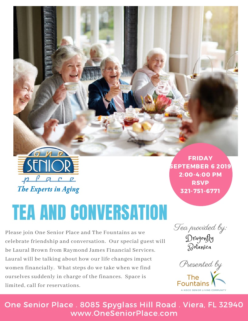 Tea and Conversation presented by The Fountains