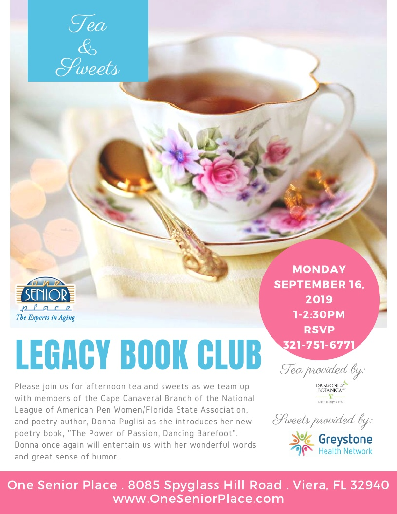 Tea and Sweets hosted by One Senior Place and Cape Canaveral Pen Women