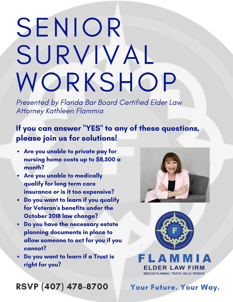 Senior Survival Workshop