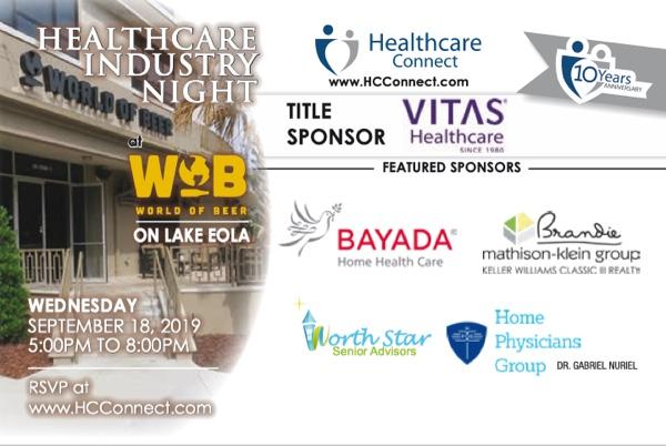 Healthcare Industry Night 10 Year Anniversary