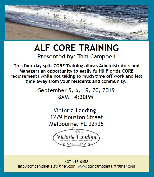 ALF Core Training at Victoria Landing