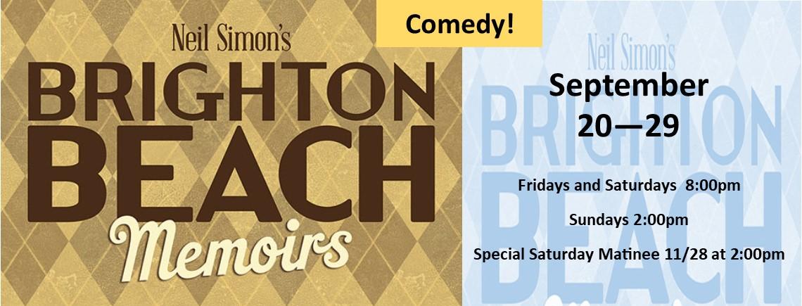 Brighton Beach Memoirs at the Surfside Playhouse