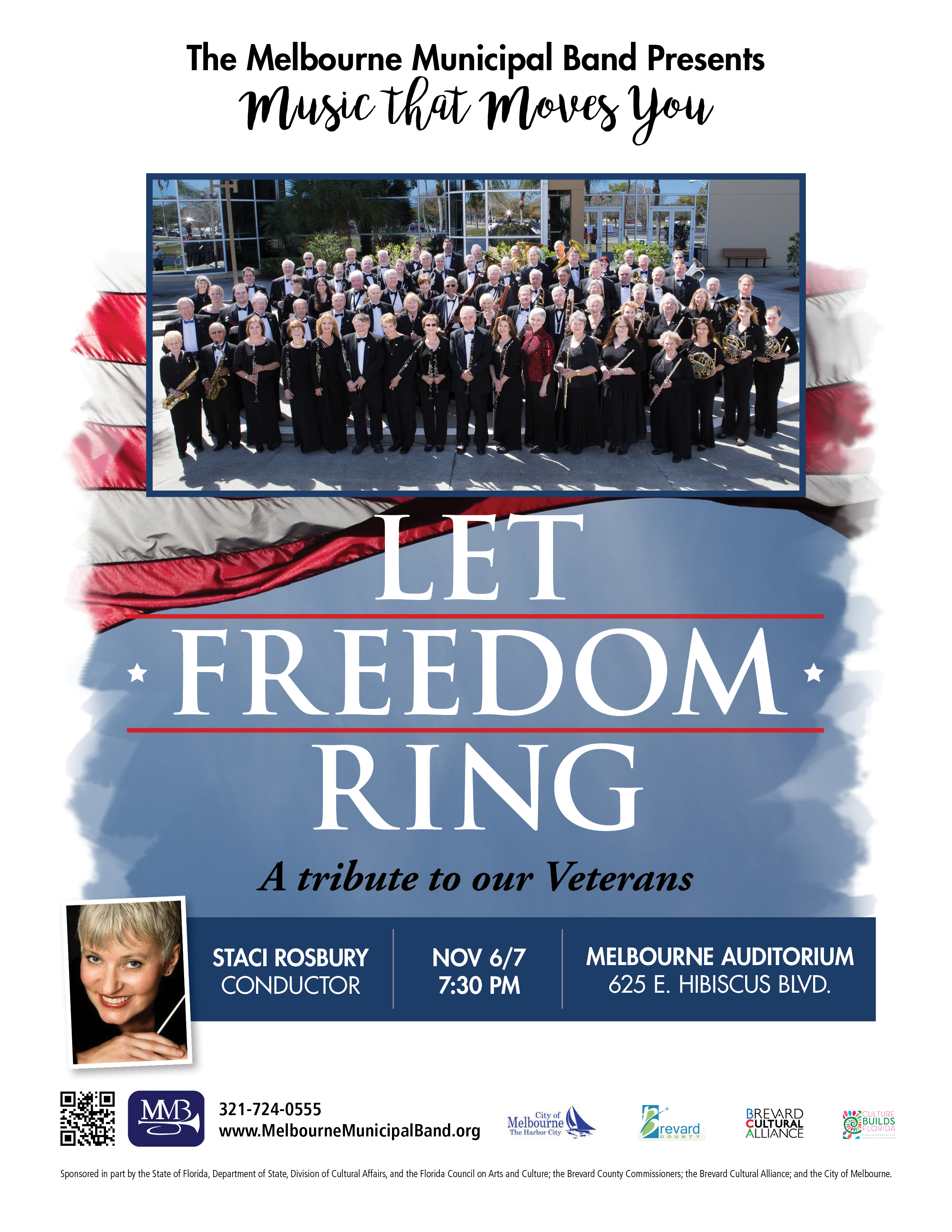 Let Freedom Ring presented by the Melbourne Municipal Band