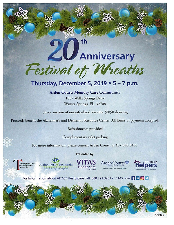 20th Anniversary Festival of Wreaths