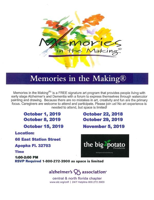 Memories in the Making - APOPKA