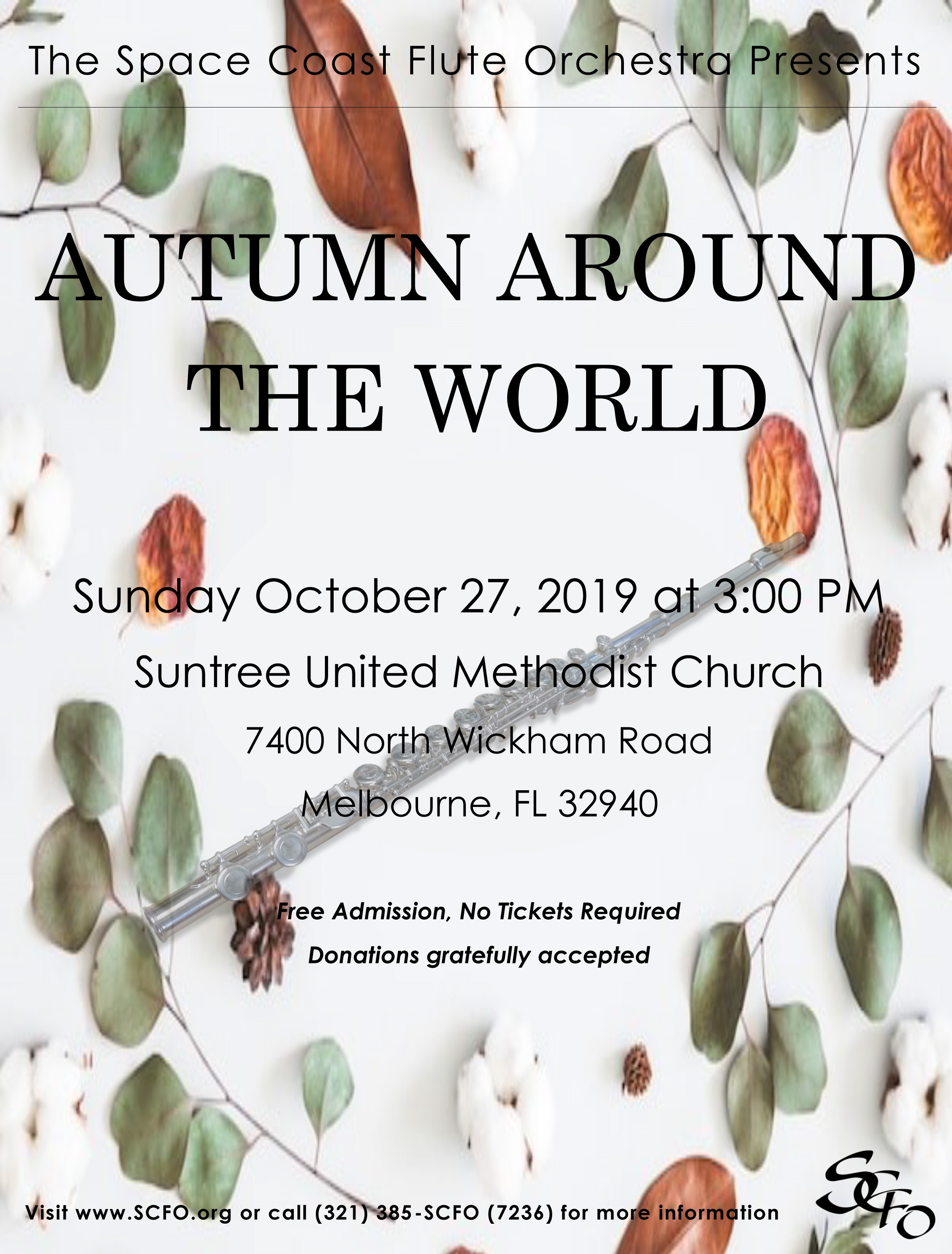 Flutes Celebrate 'Autumn Around the World'