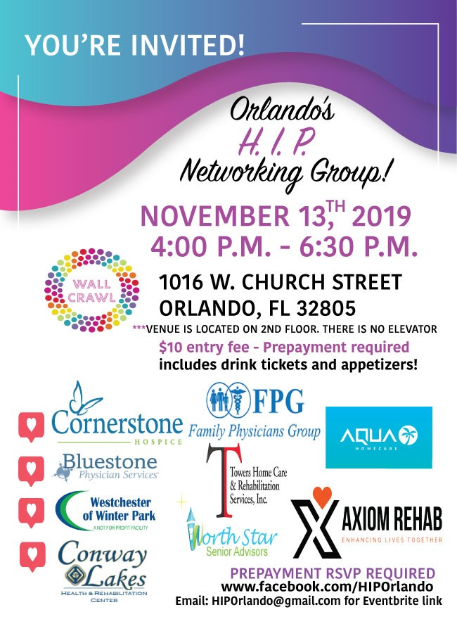 Orlando H.I.P. Networking Group