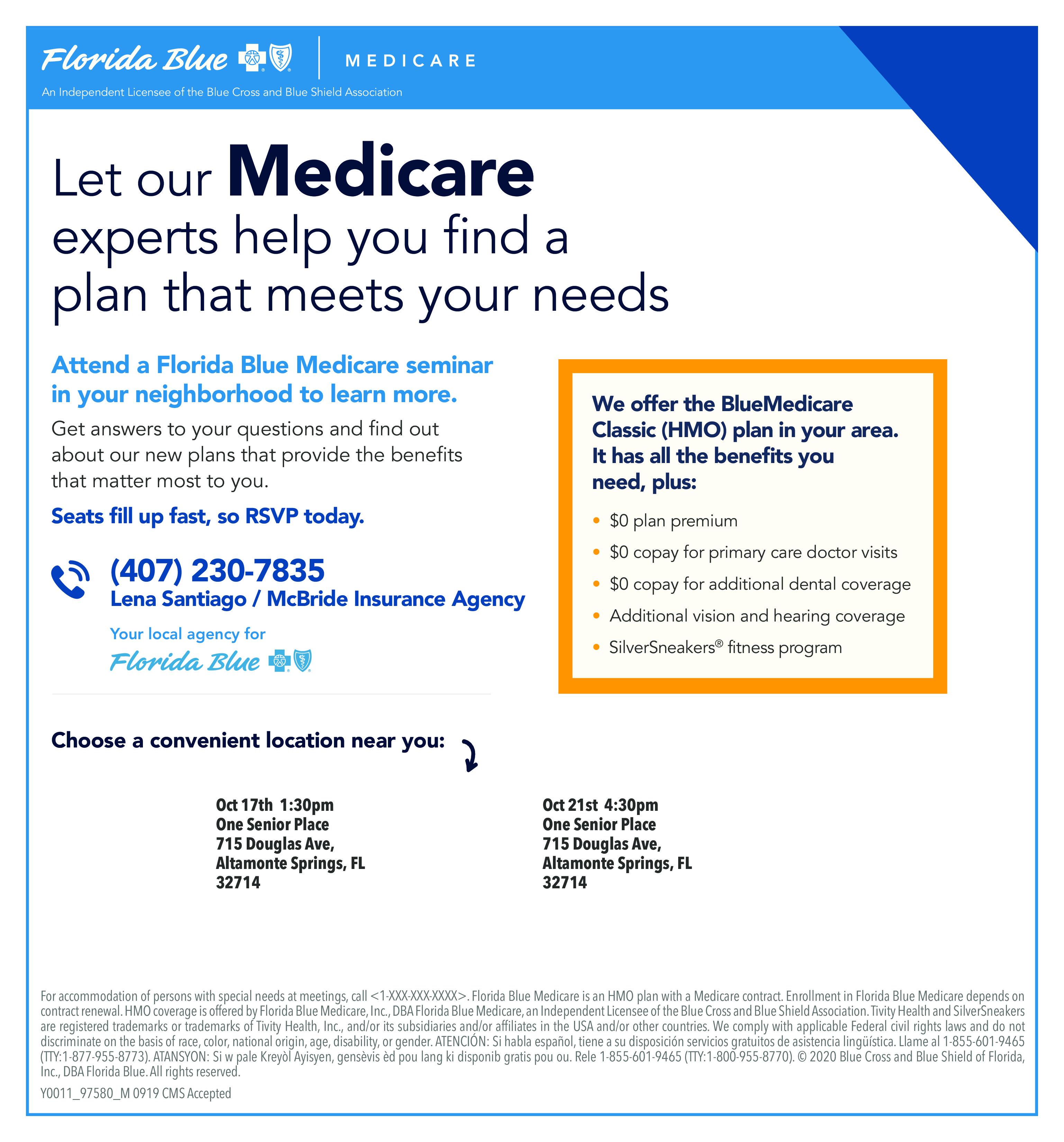 BlueMedicare 2020