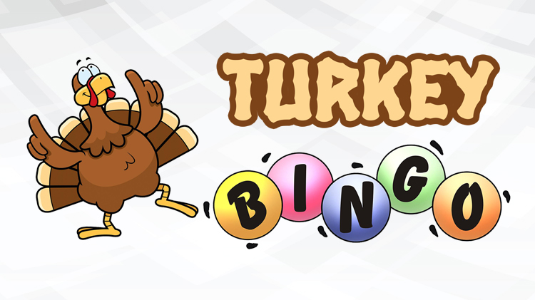 Seniors Blue Book Turkey Bingo Networking Event
