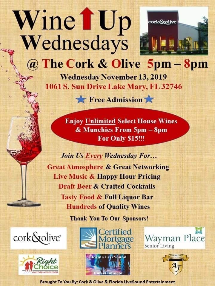 Wine Up Wednesday