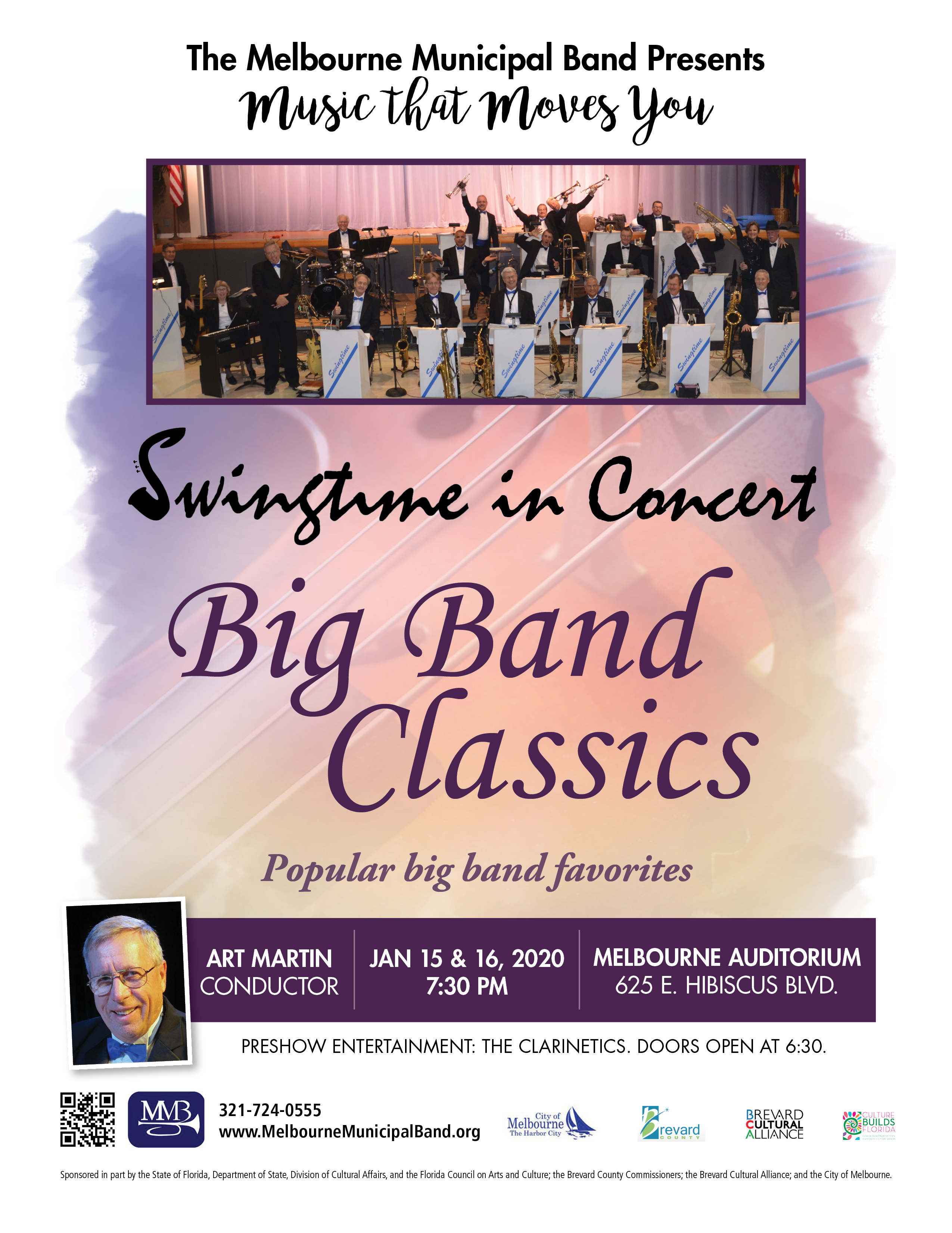 Big Band Classics presented by The Melbourne Municipal Band