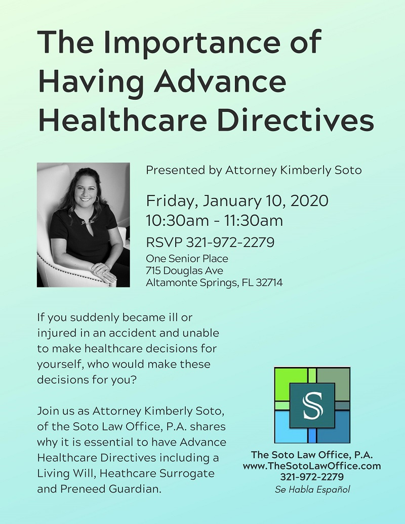 The Importance of Having Advance Healthcare Directives