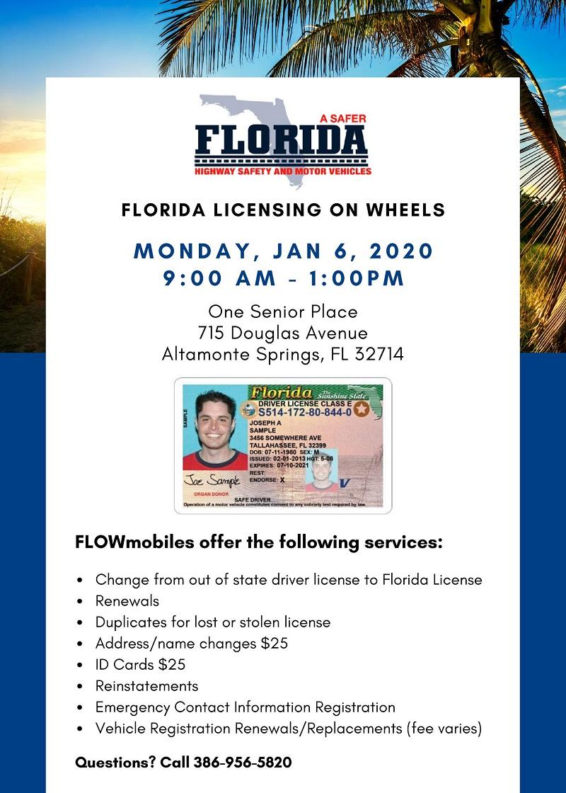 Florida Licensing on Wheels