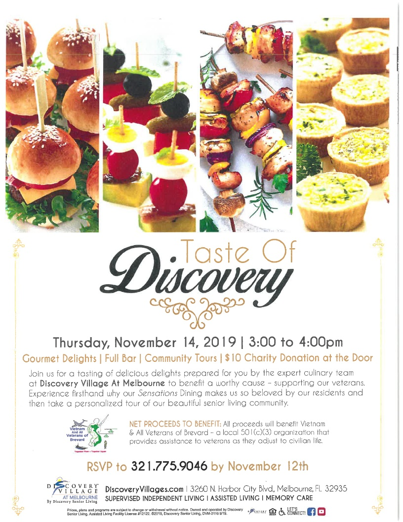 'Taste of Discovery' Charity Event at Discovery Village at Melbourne