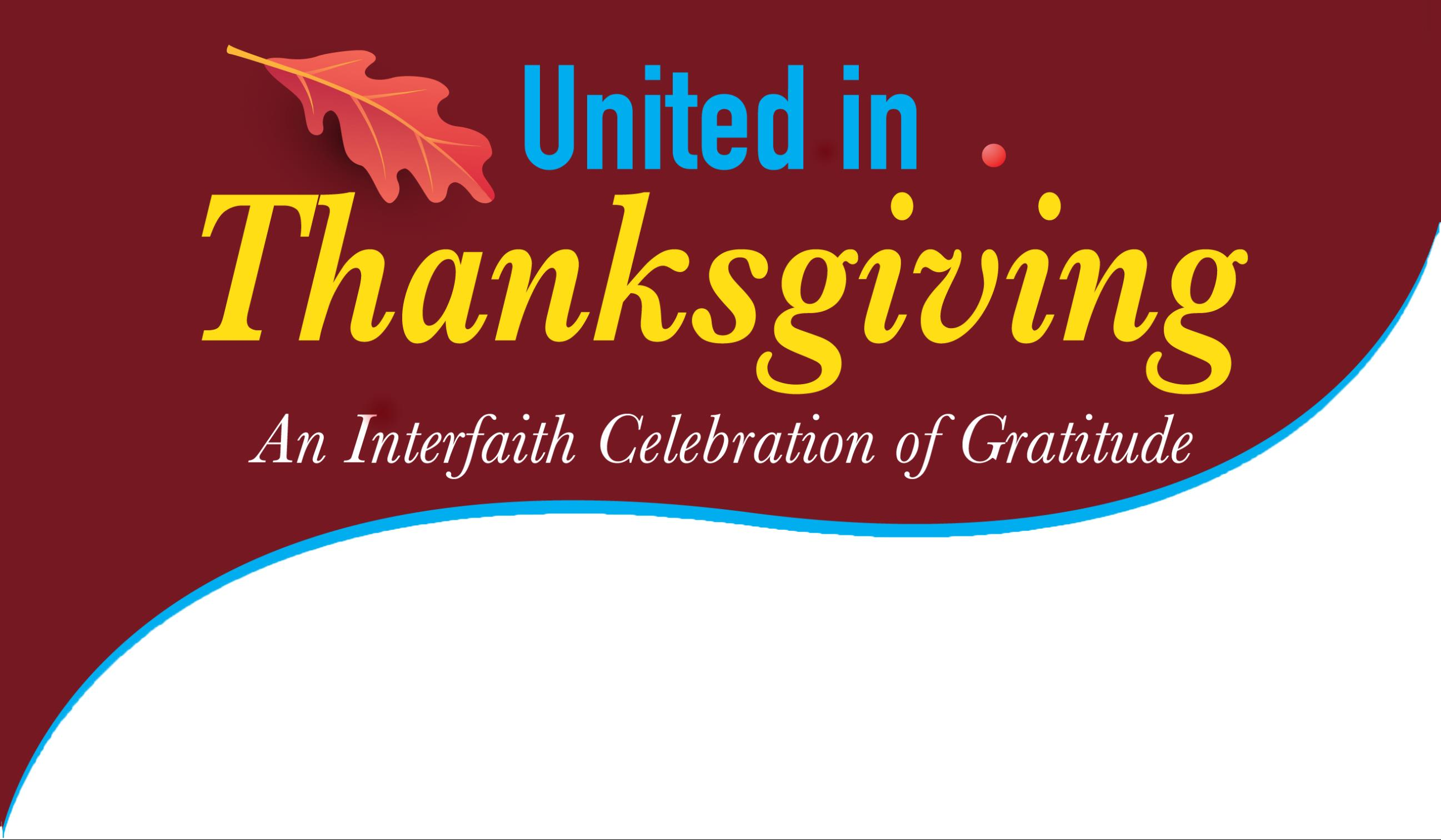 Different Faiths 'United in Thanksgiving'
