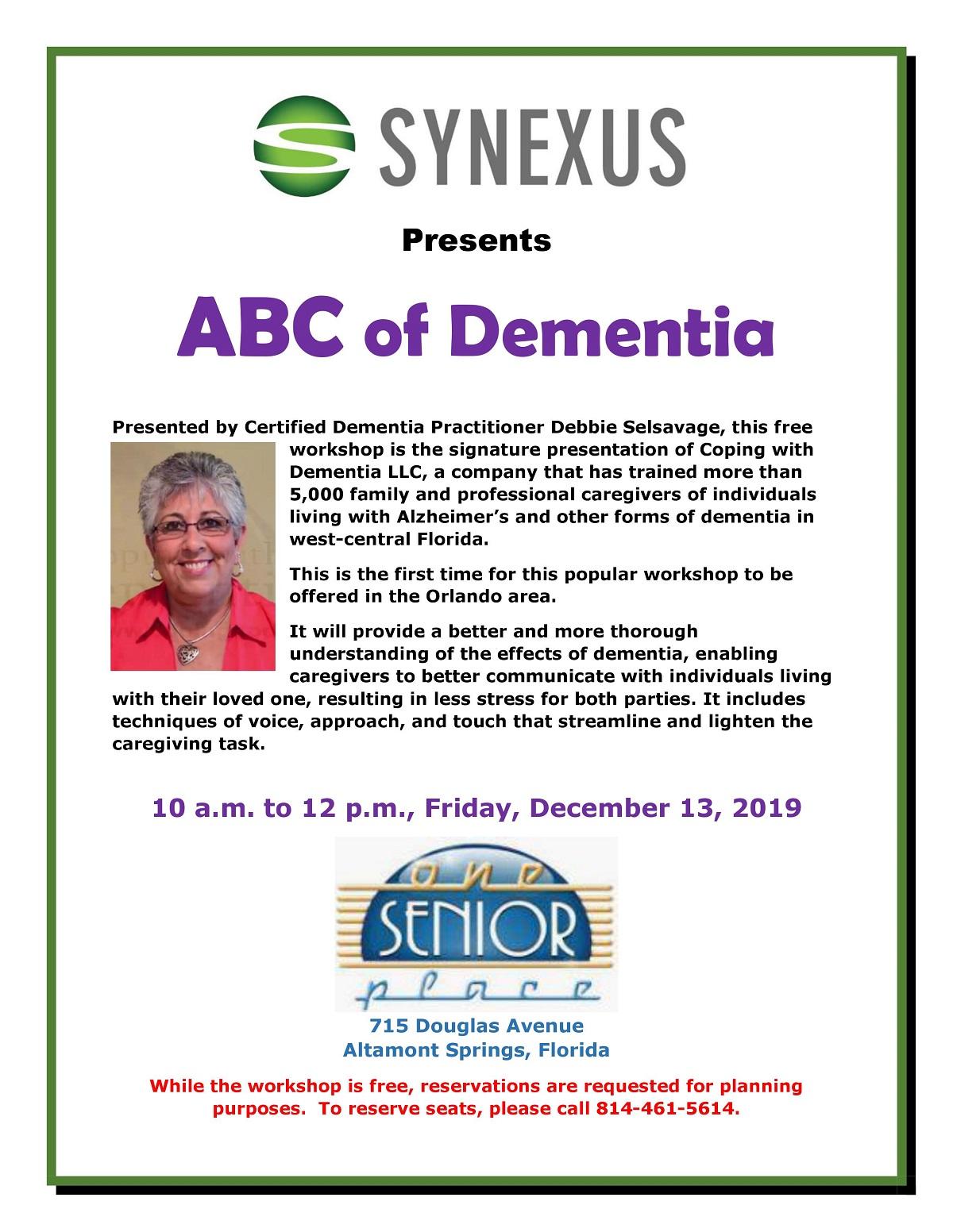 ABC of Dementia