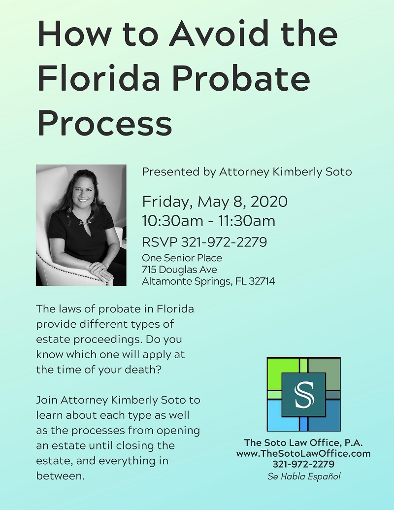 How to Avoid the Florida Probate Process