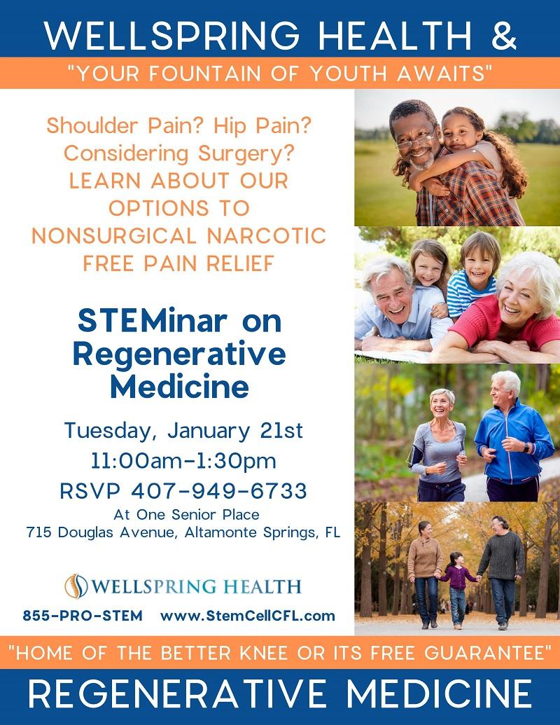 STEMinar on Regenerative Medicine