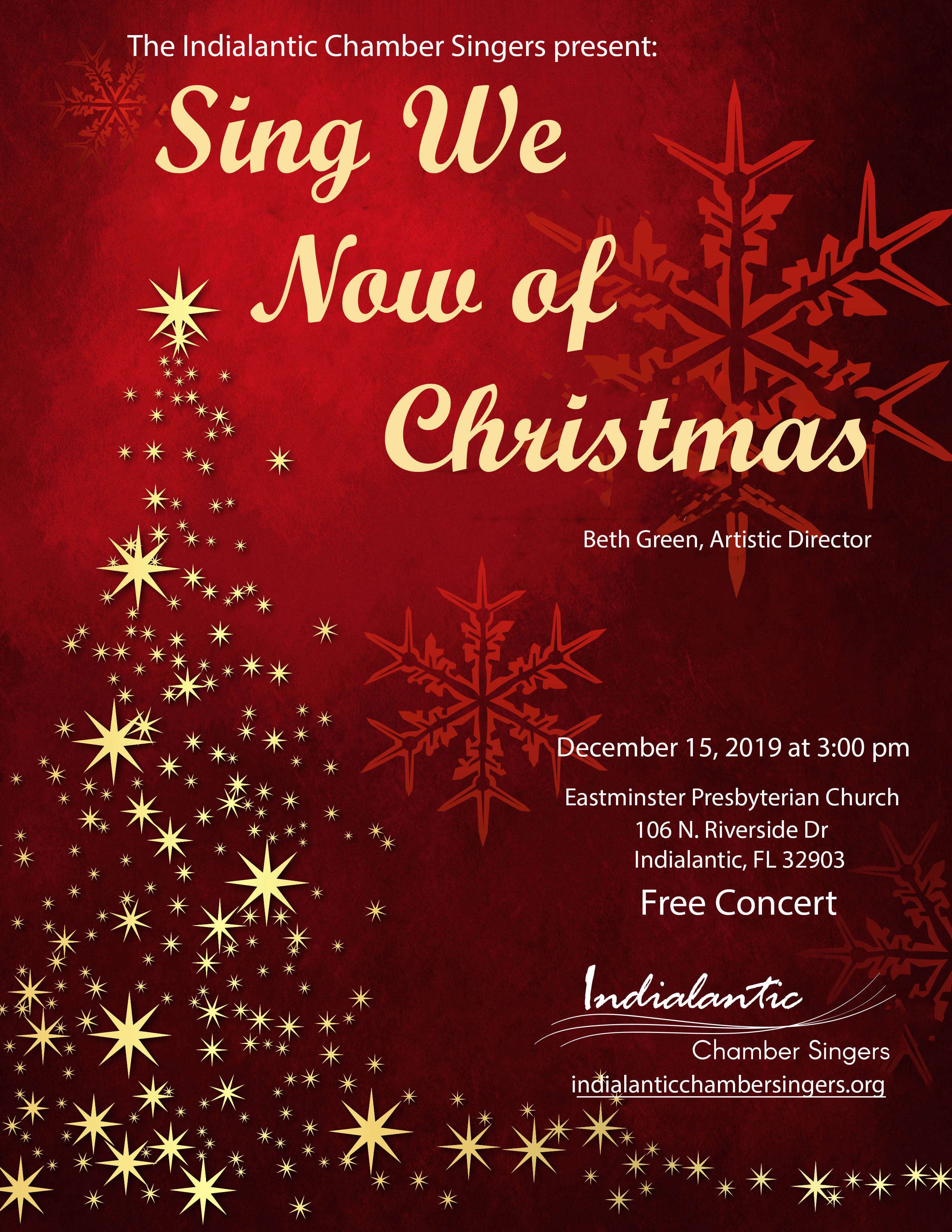 Chamber Singers Will 'Sing of Christmas'