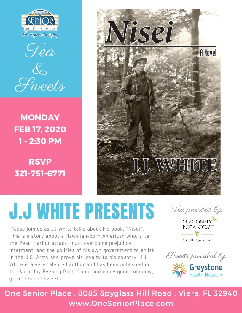"Tea and Sweets - J.J. White presents ""Nisei"""