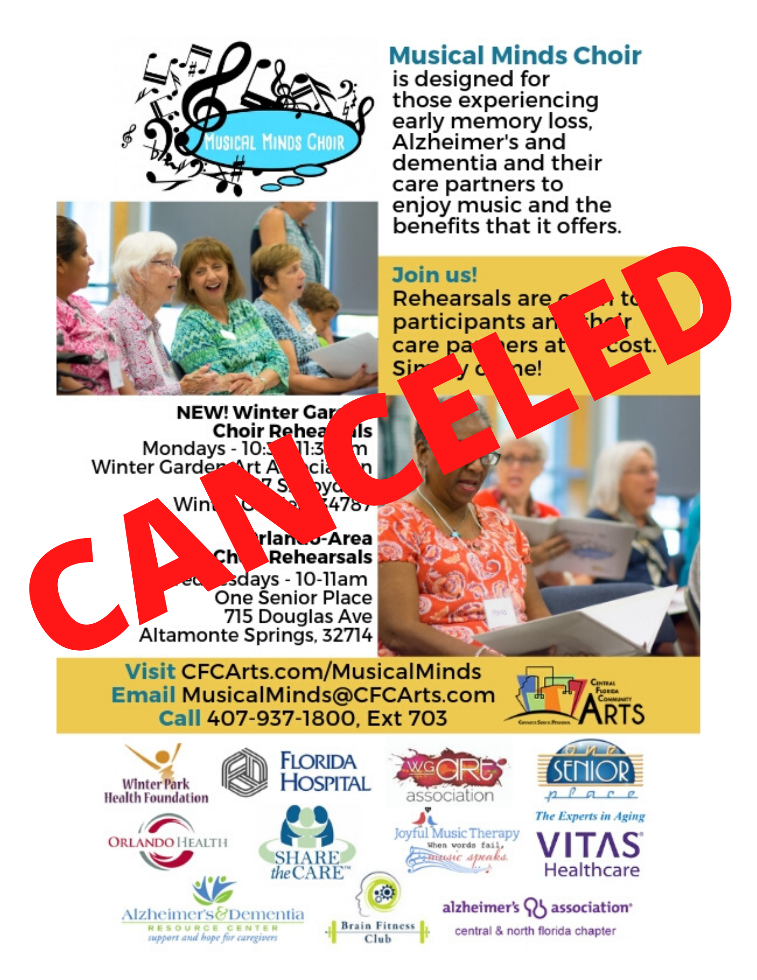 CANCELED: Musical Minds Choir