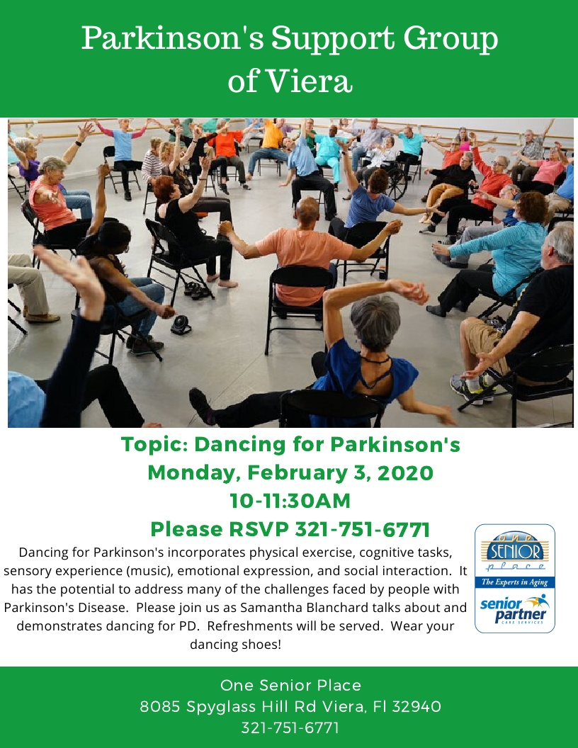 Parkinson's Support Group of Viera - Dancing for Parkinson's