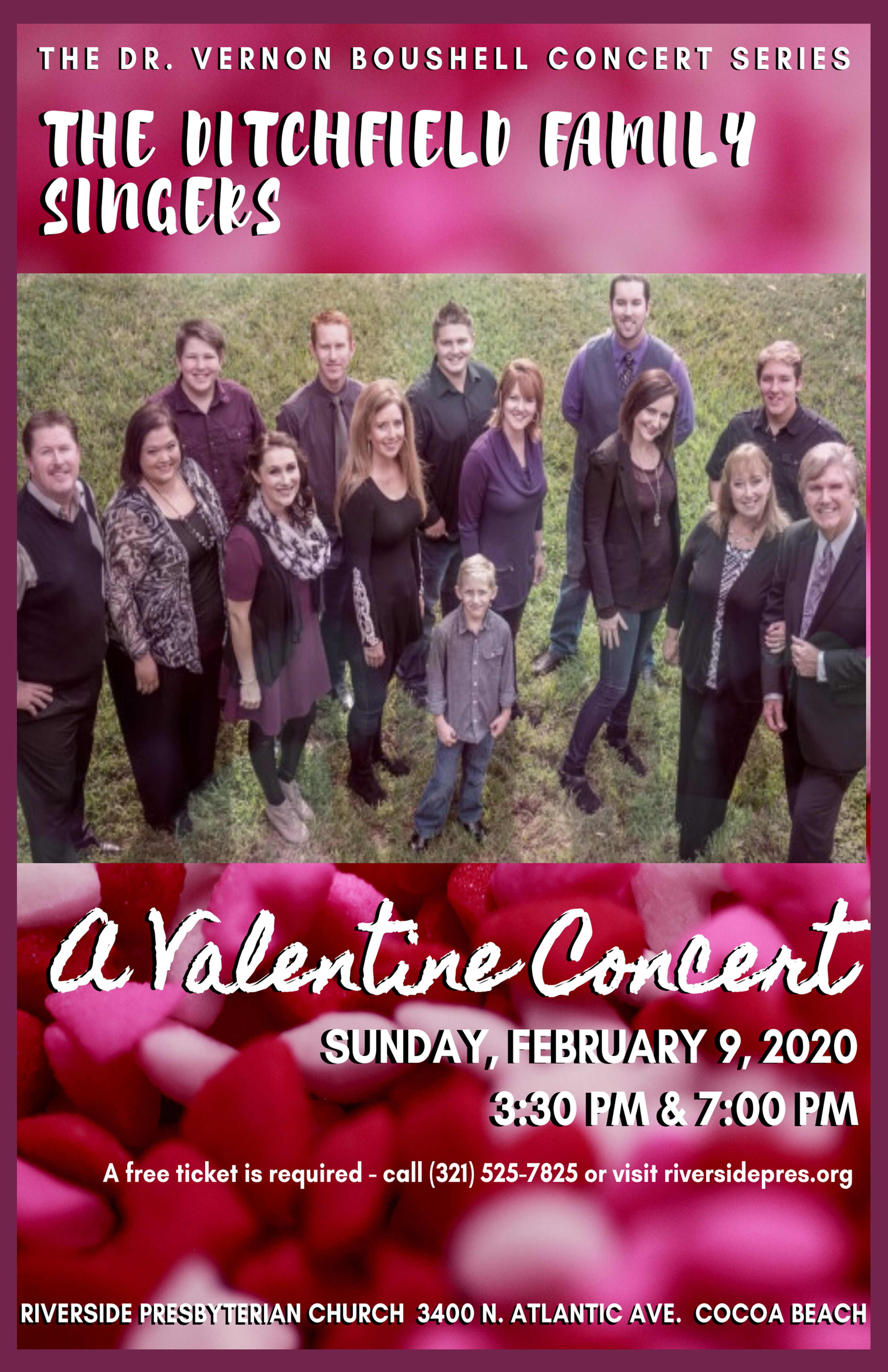 'A Valentine Concert' by the Ditchfield Family Singers