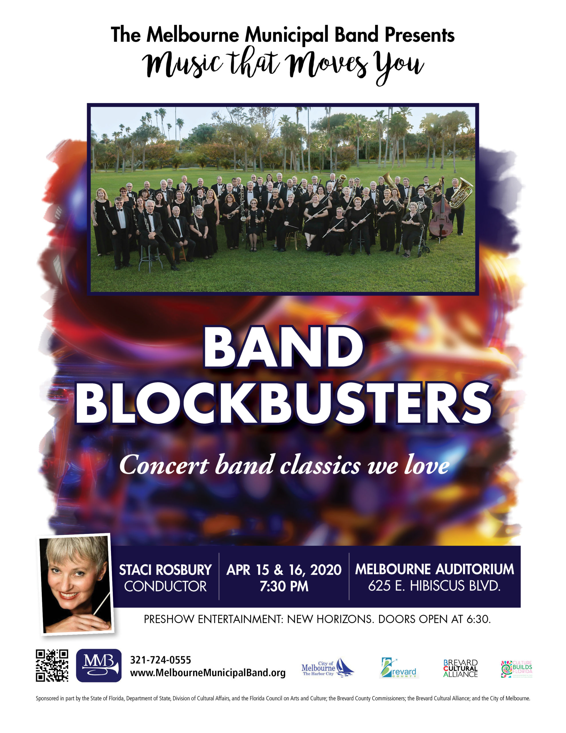 CANCELLED - Band Blockbusters presented by The Melbourne Municipal Band