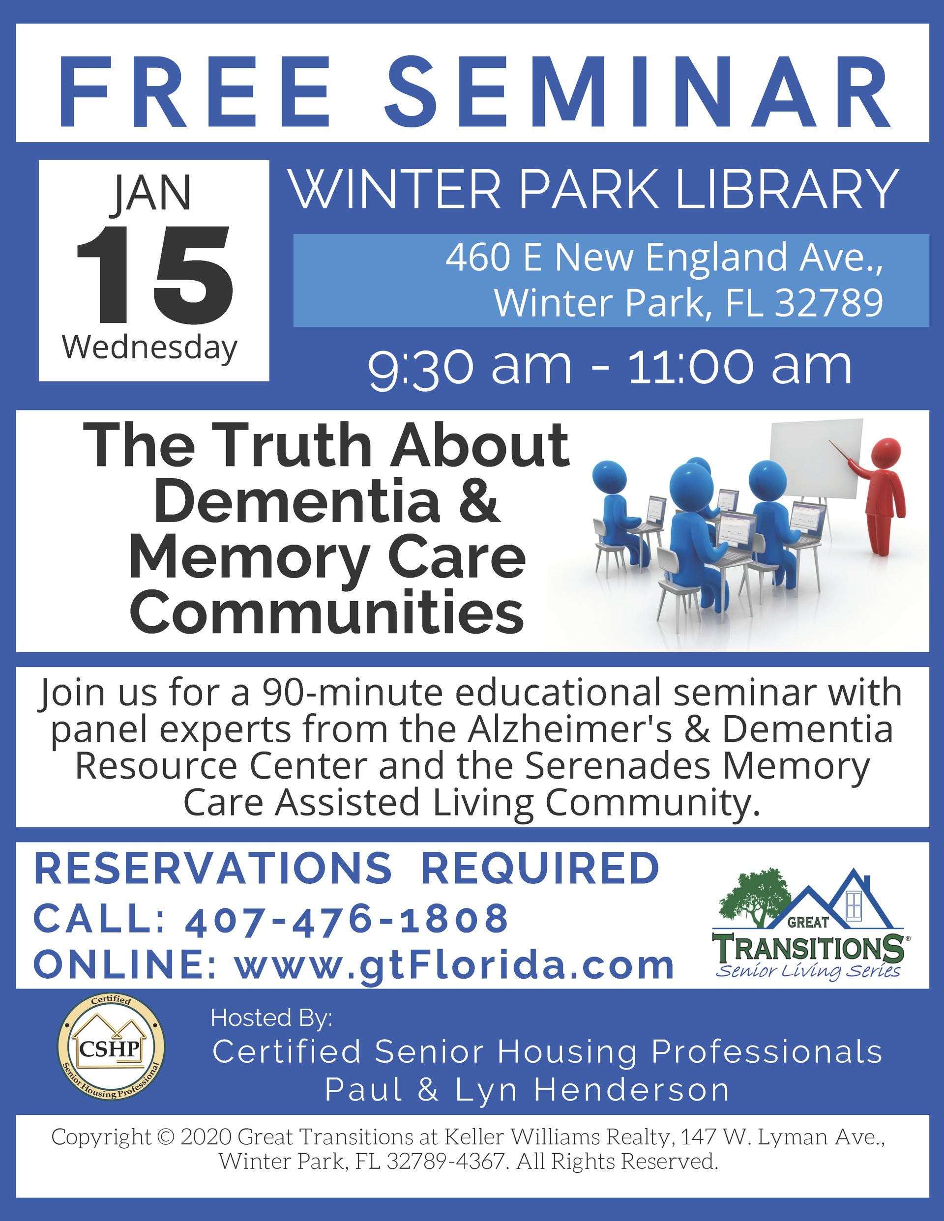 The Truth About Dementia & Memory Care Communities