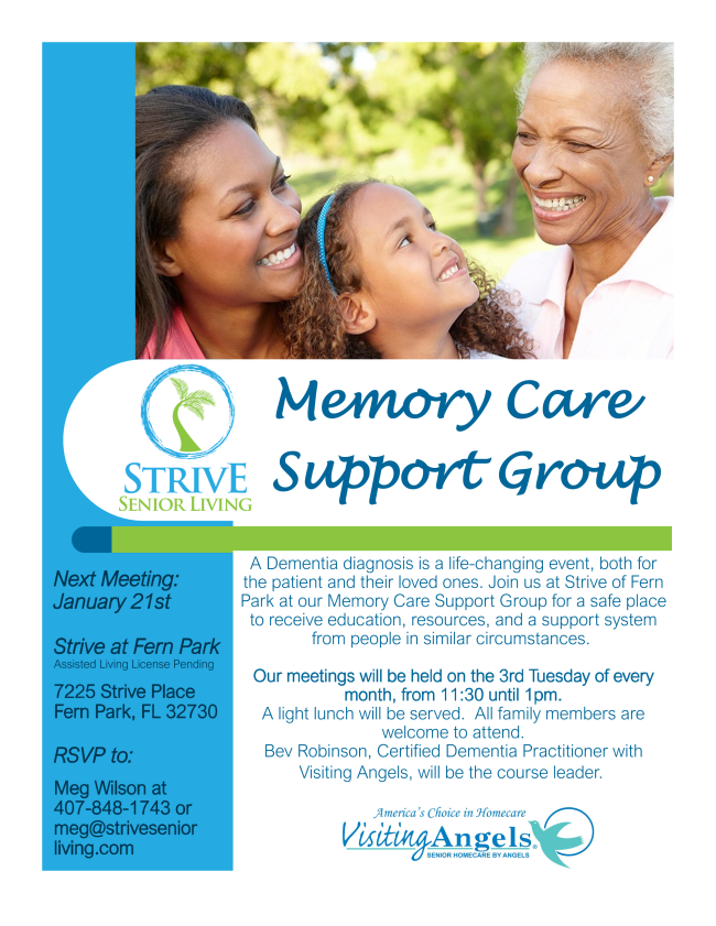 Memory Care Support Group