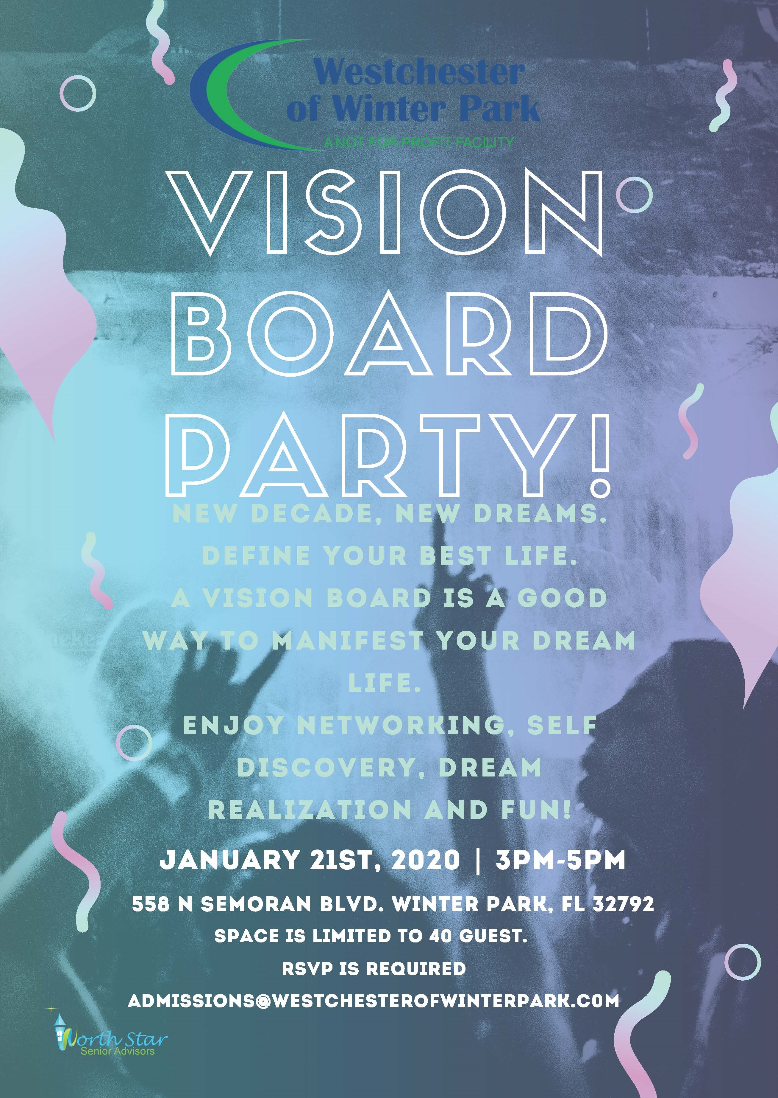 Vision Board Networking Party