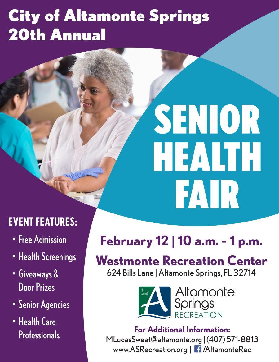 Senior Health Fair