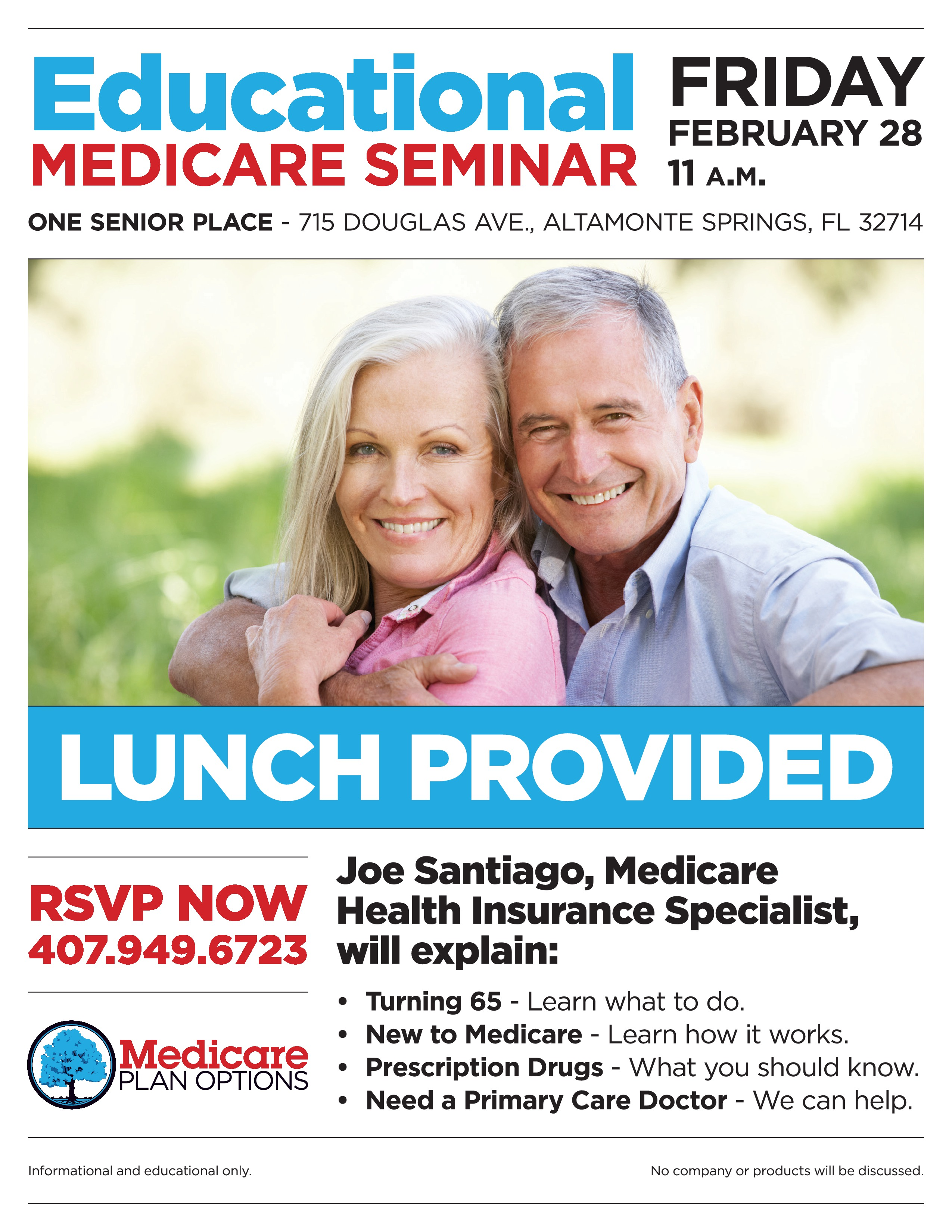 Medicare 2020 Lunch-n-Learn